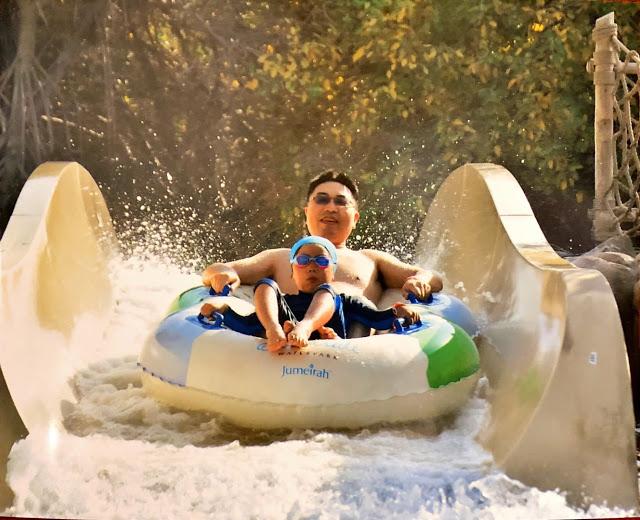异彩纷呈的迪拜之行 - 第三天 - Wild Wadi Water Park(妈妈的博客)-第9张图片-Celia的博客