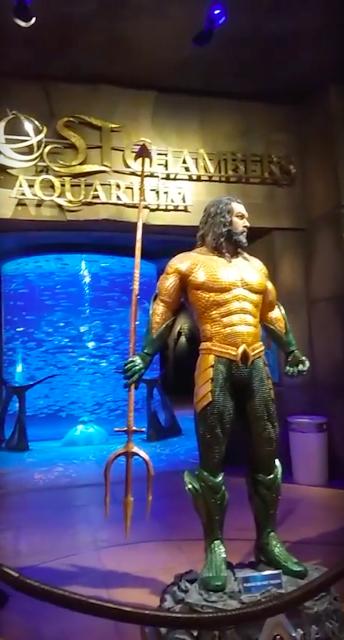 Our Trip to Dubai -- The 4th Day -- The Atlantis Aquarium and a desert safari-第1张图片-Celia的博客