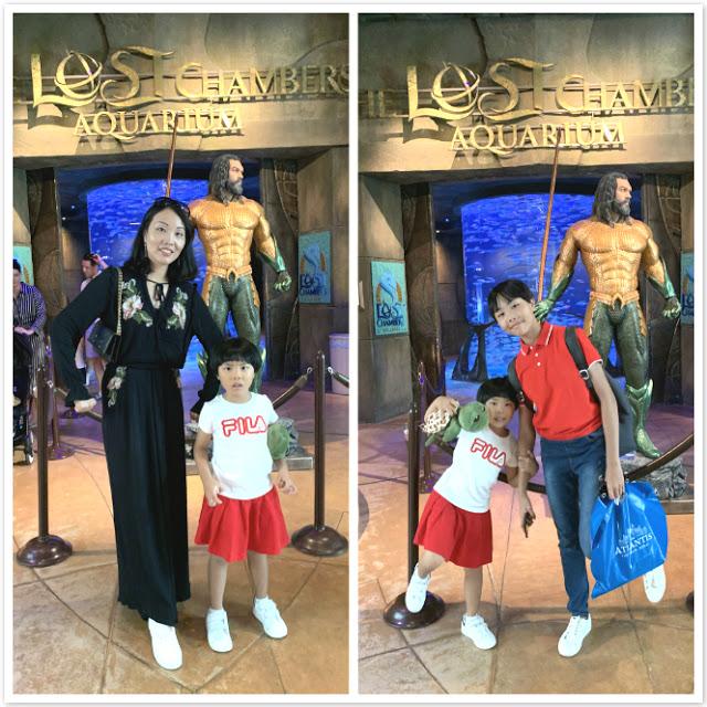 Our Trip to Dubai -- The 4th Day -- The Atlantis Aquarium and a desert safari-第3张图片-Celia的博客