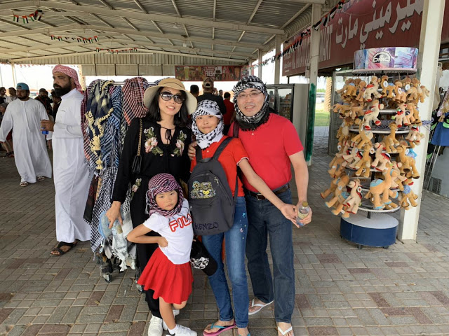 Our Trip to Dubai -- The 4th Day -- The Atlantis Aquarium and a desert safari