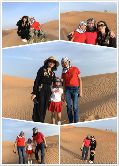 Our Trip to Dubai -- The 4th Day -- The Atlantis Aquarium and a desert safari-第12张图片-Celia的博客