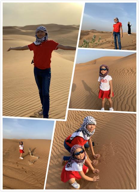 Our Trip to Dubai -- The 4th Day -- The Atlantis Aquarium and a desert safari-第13张图片-Celia的博客