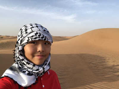 Our Trip to Dubai -- The 4th Day -- The Atlantis Aquarium and a desert safari-第14张图片-Celia的博客