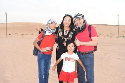 Our Trip to Dubai -- The 4th Day -- The Atlantis Aquarium and a desert safari-第16张图片-Celia的博客