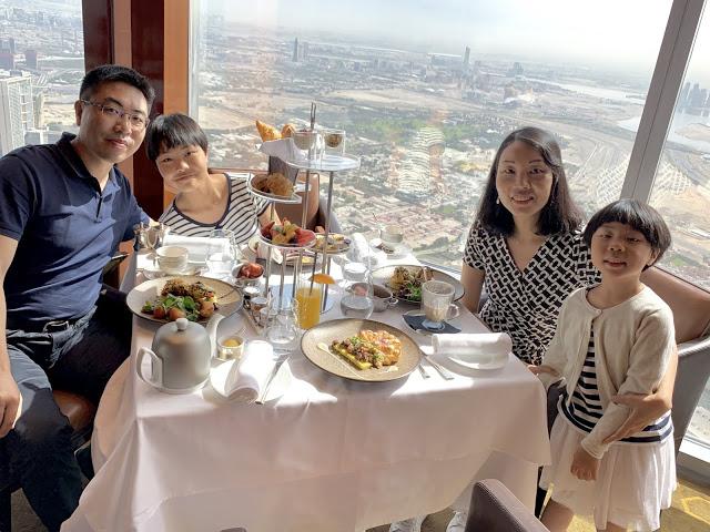异彩纷呈的迪拜之行 - 第二天 - 哈利法塔早餐+迪拜Mall+地球村(妈妈的博客)-第2张图片-Celia的博客