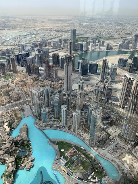 异彩纷呈的迪拜之行 - 第二天 - 哈利法塔早餐+迪拜Mall+地球村(妈妈的博客)-第5张图片-Celia的博客
