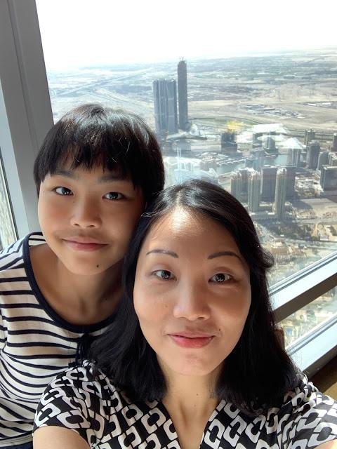 异彩纷呈的迪拜之行 - 第二天 - 哈利法塔早餐+迪拜Mall+地球村(妈妈的博客)-第9张图片-Celia的博客