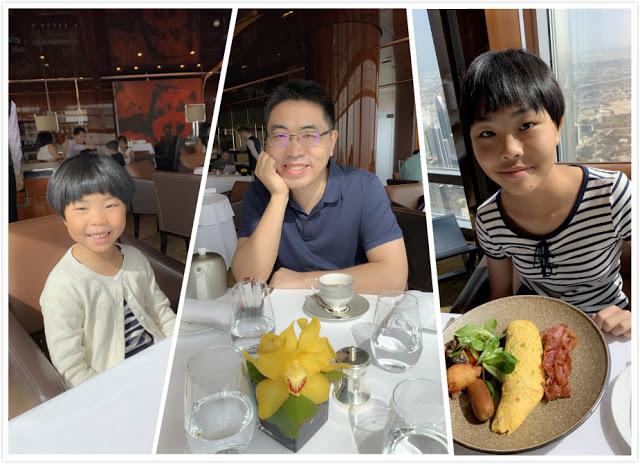 异彩纷呈的迪拜之行 - 第二天 - 哈利法塔早餐+迪拜Mall+地球村(妈妈的博客)-第11张图片-Celia的博客