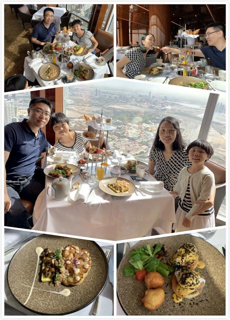 异彩纷呈的迪拜之行 - 第二天 - 哈利法塔早餐+迪拜Mall+地球村(妈妈的博客)-第12张图片-Celia的博客