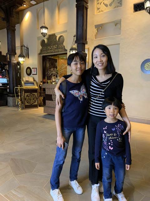 异彩纷呈的迪拜之行 - 第一天 - 新加坡飞迪拜+朱美拉皇宫酒店(妈妈的博客)-第29张图片-Celia的博客